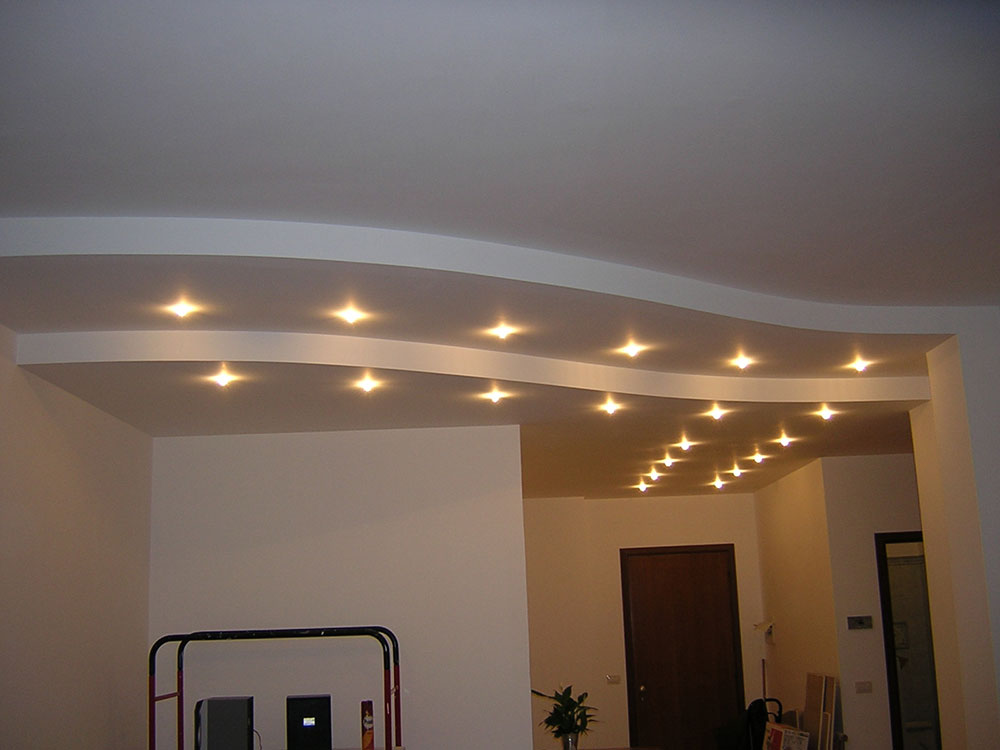 Controsoffitti con faretti a led xx04 pineglen for Led controsoffitto